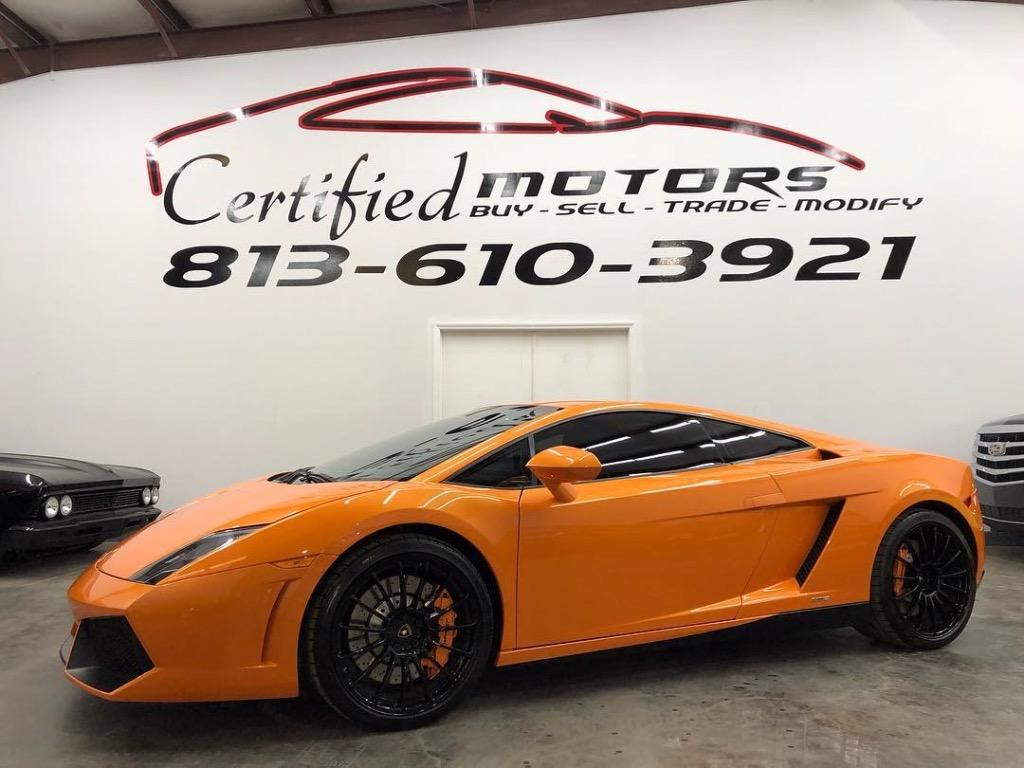2013 Lamborghini Gallardo Lp 550 2 In Tampa Fl Used Cars For Sale