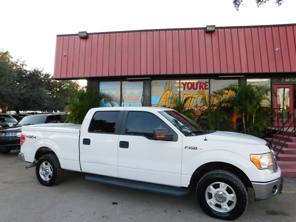 2009 Ford F150 Supercrew 4wd