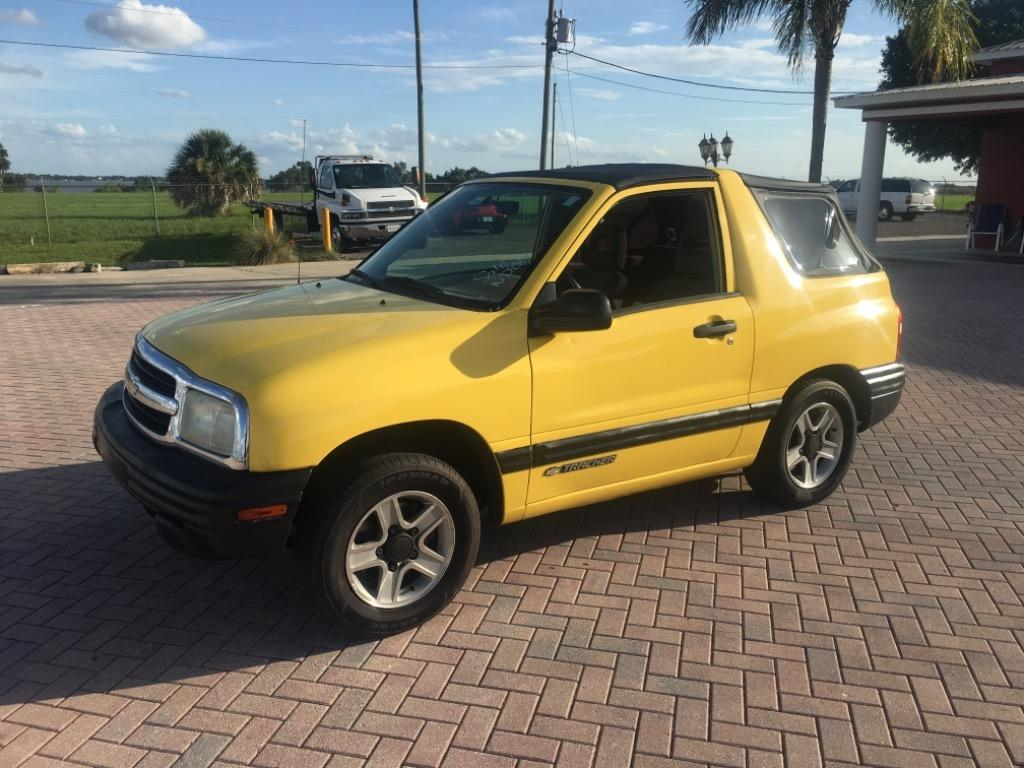 Check Out This 2003 Chevrolet Tracker Should I Get It