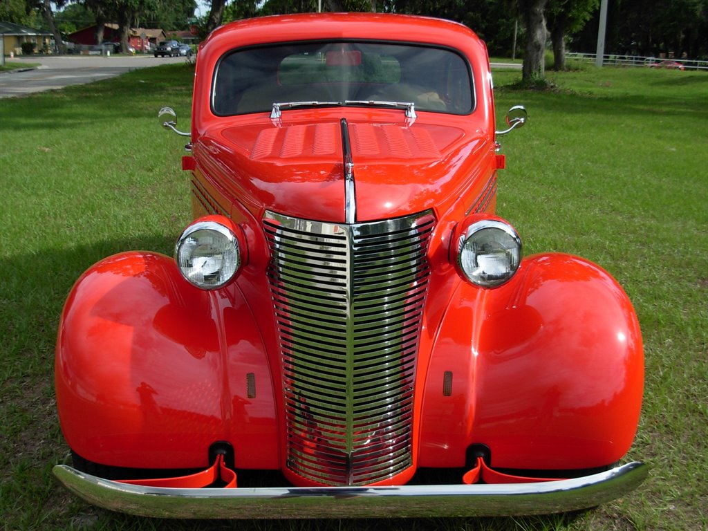 1938 Chevrolet Master Deluxe Suicide Door Sedan For Sale