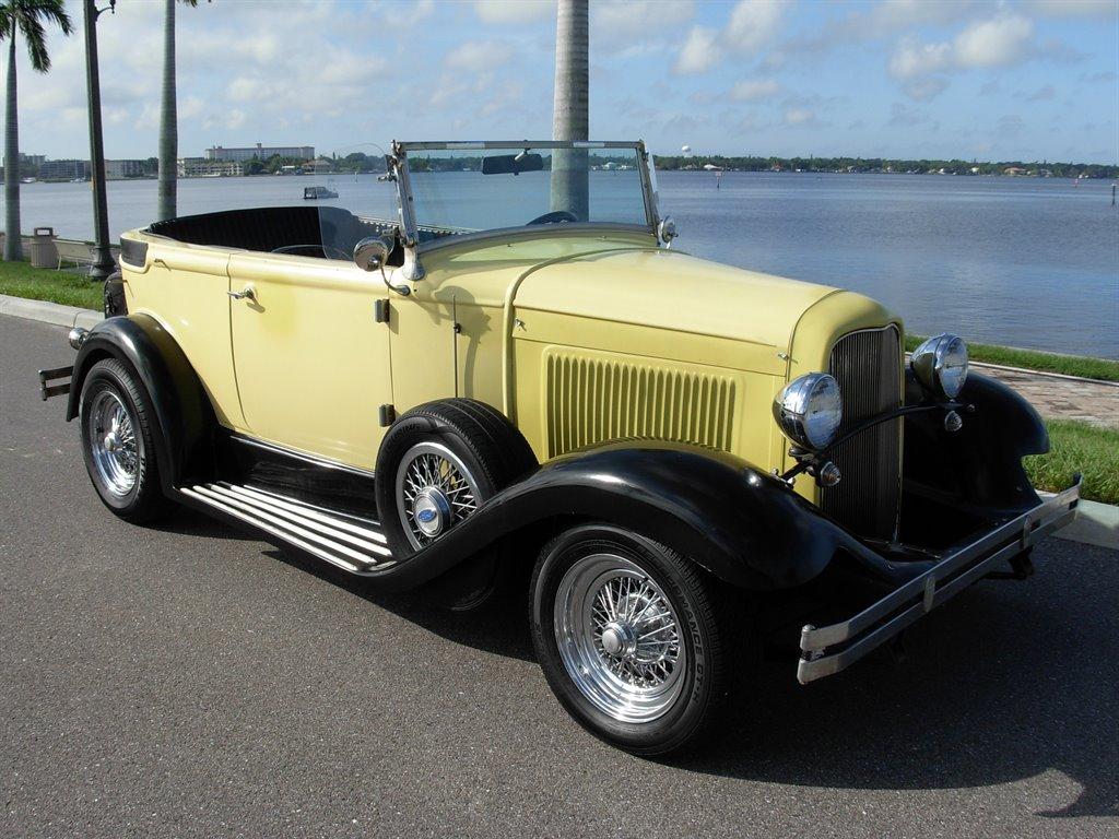 1931 Ford Tudor Roadster 5