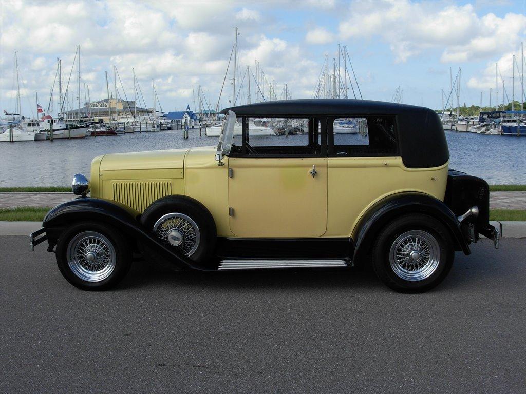 1931 Ford Tudor Roadster 16
