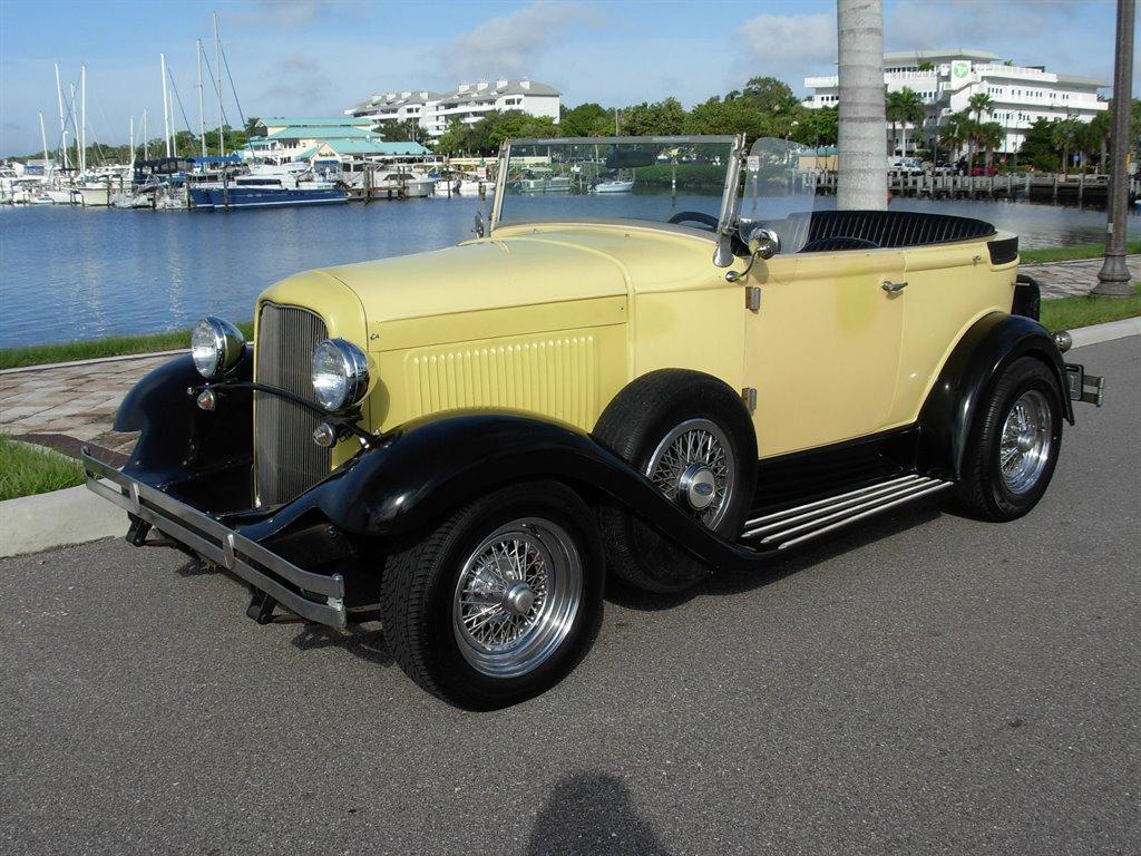 1931 Ford Tudor Roadster 7