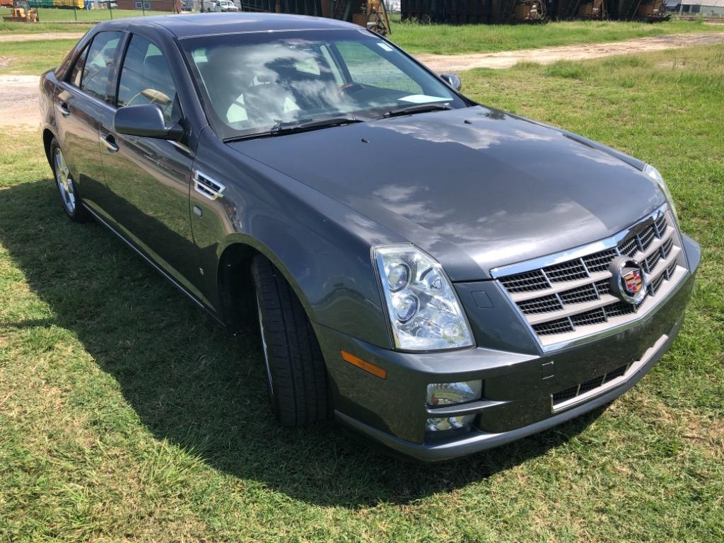 The 2008 Cadillac STS V6
