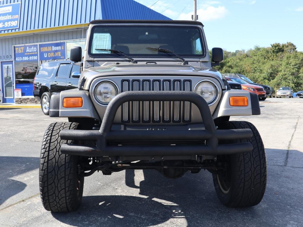 2005 Jeep Wrangler X photo