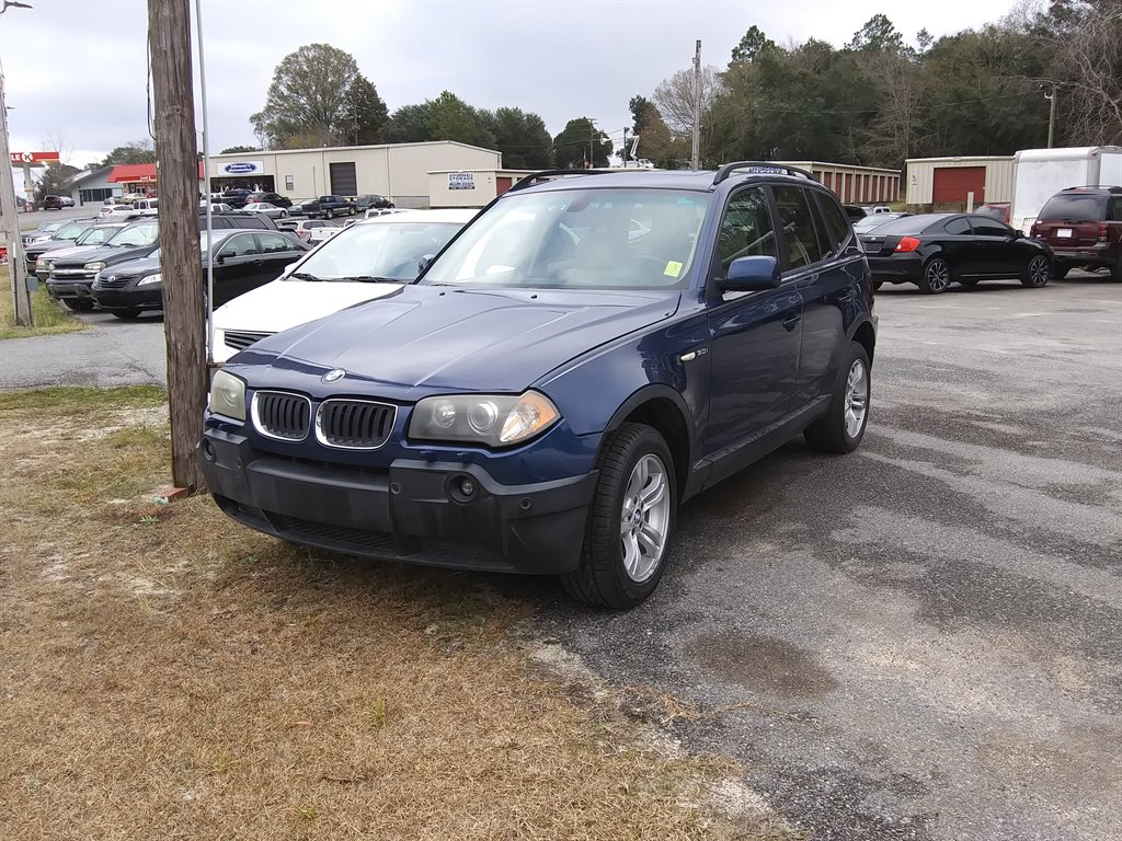 The 2005 BMW X3 3.0i photos