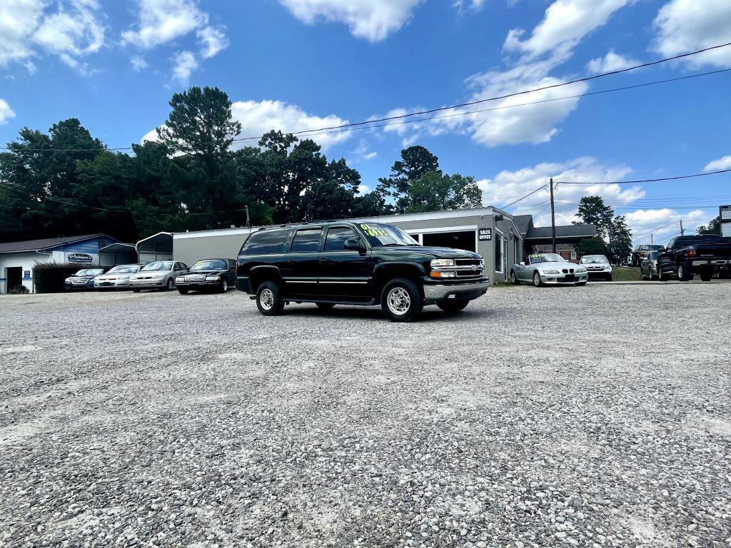 The 2001 Chevrolet Suburban 2500 photos