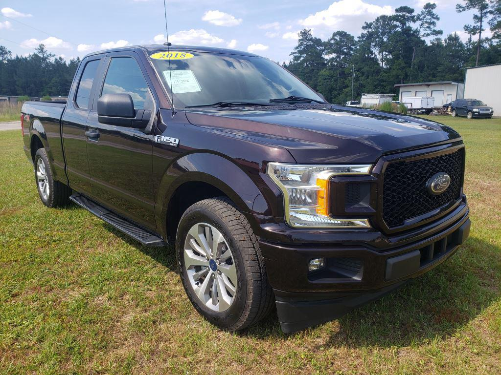 The 2018 Ford F150  photos
