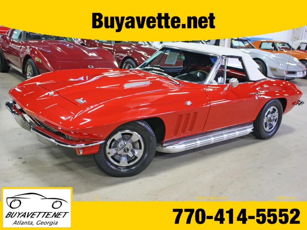 1966 Chevrolet Corvette Convertible photo