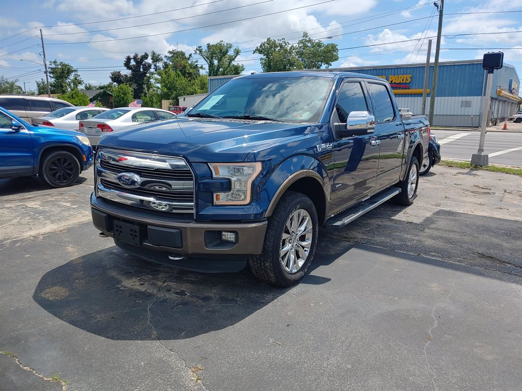 The 2015 Ford F150 Lariat photos