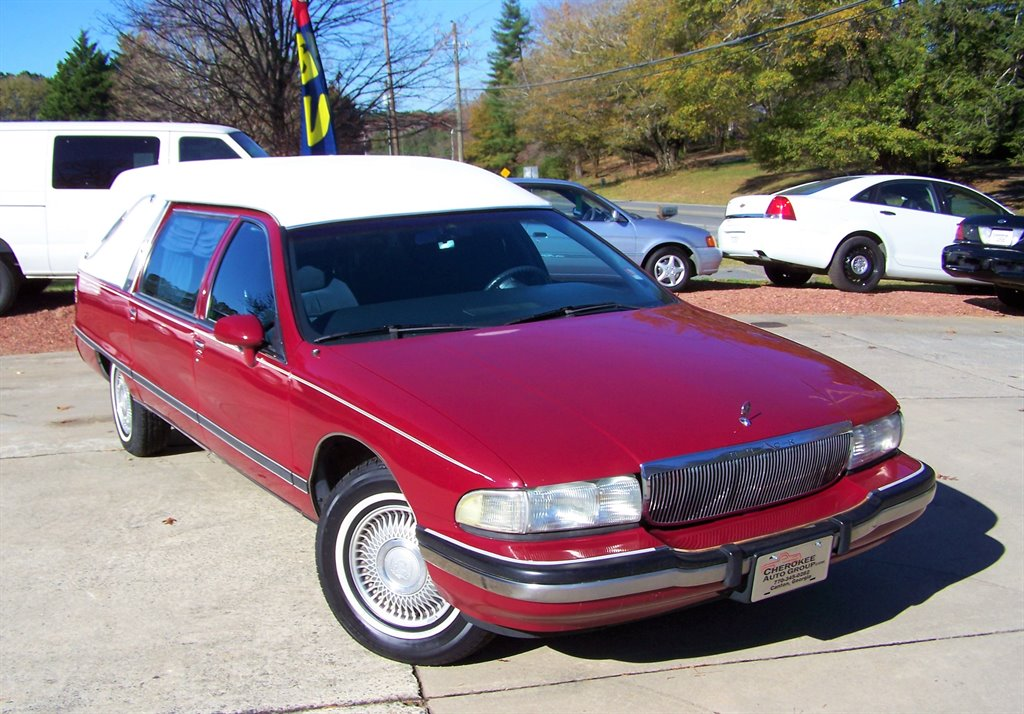 1992 Buick Roadmaster 5.7l Commercial Wago photo