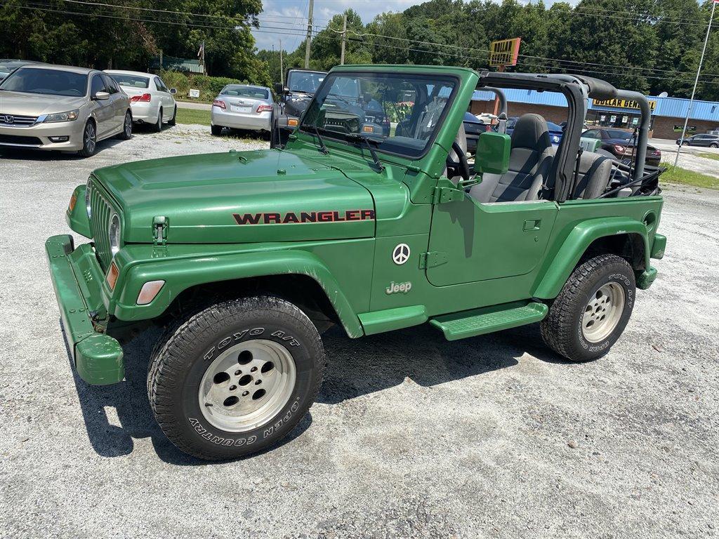 1997 Jeep Wrangler SE photo