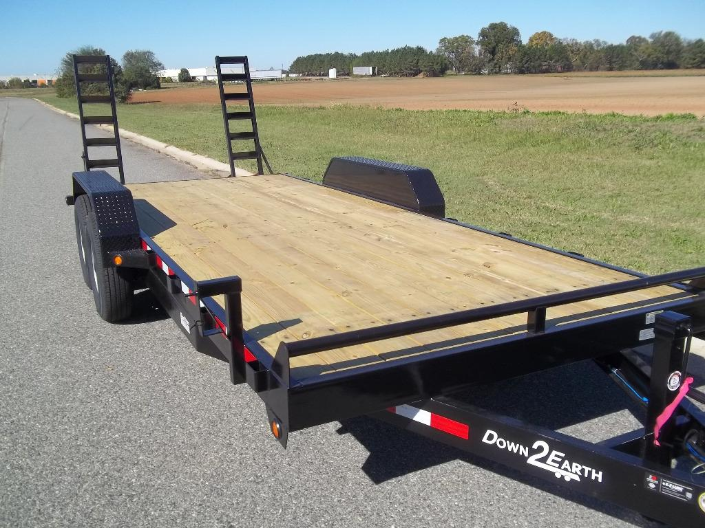 2021 down to earth 20 ft 14k equipment equipment trailer  photo