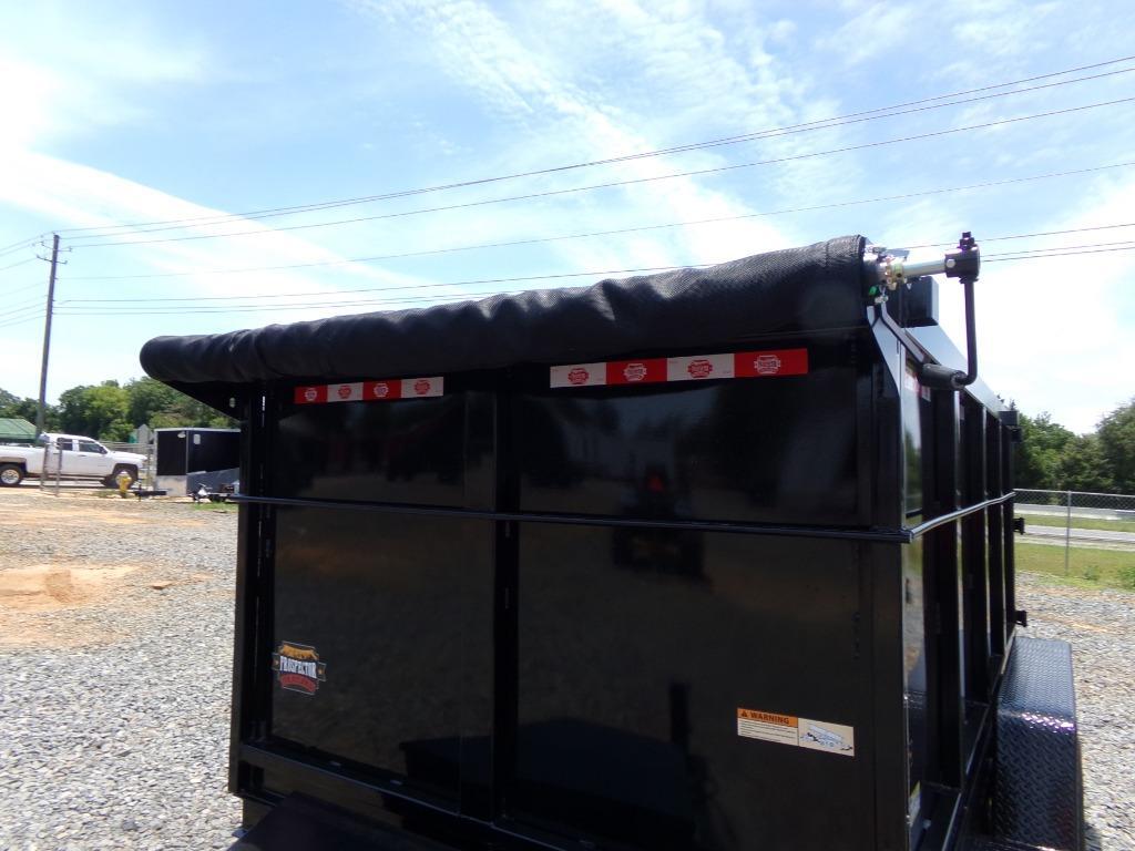 2021 prospector dump trailer 6 x 12 10k HS  photo