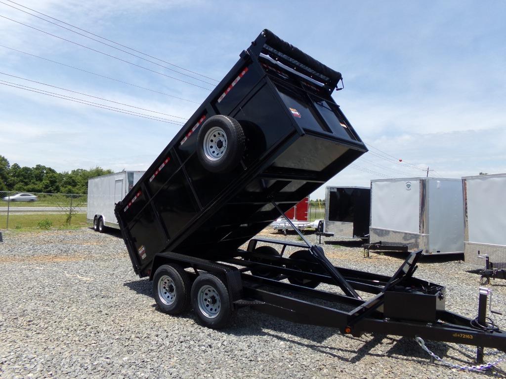 The 2021 prospector dump trailer 6 x 12 10k HS  photos