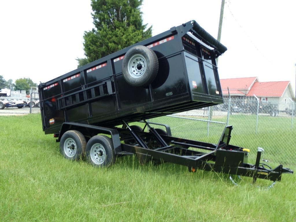 The 2021 prospector dump trailer 7 x 14 14k 4hs dump trailer  photos