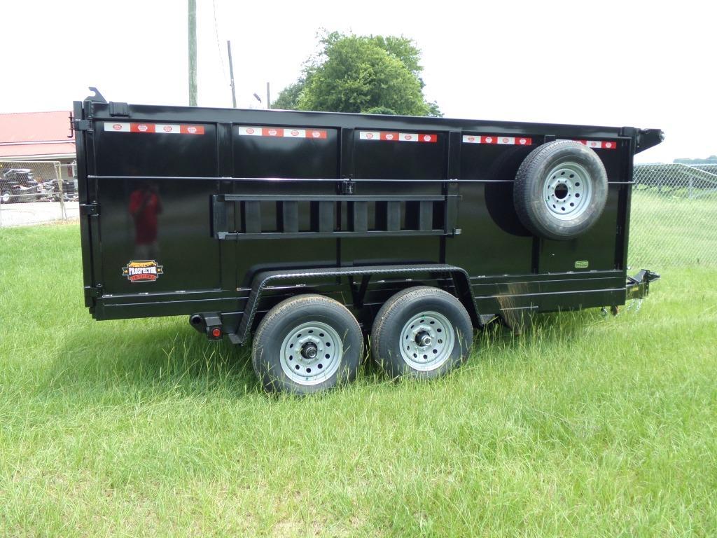 2021 prospector dump trailer 7 x 14 14k 4hs dump trailer  photo