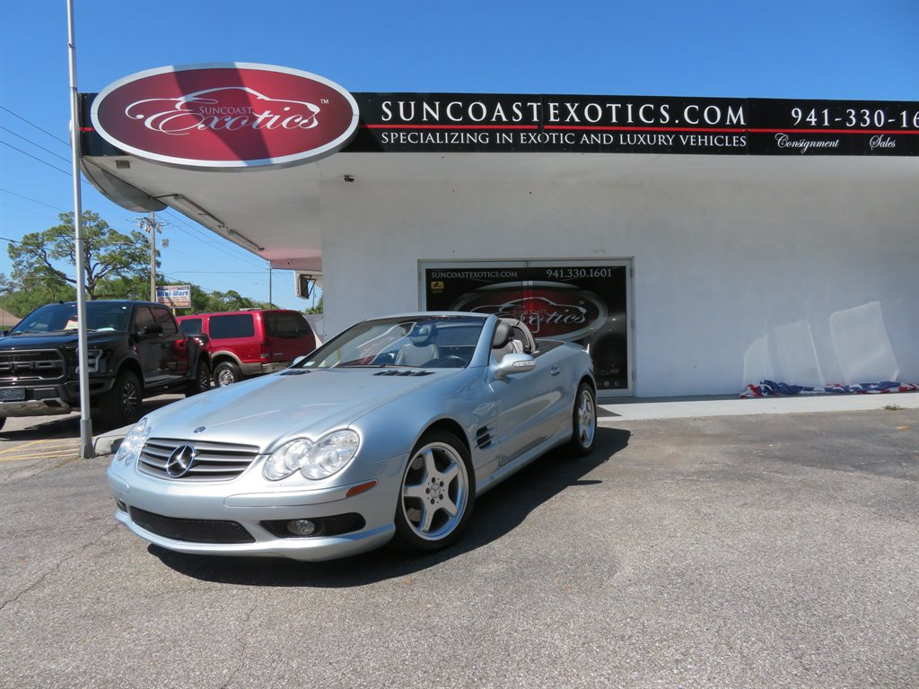 2003 Mercedes-Benz SL-Class SL500 photo