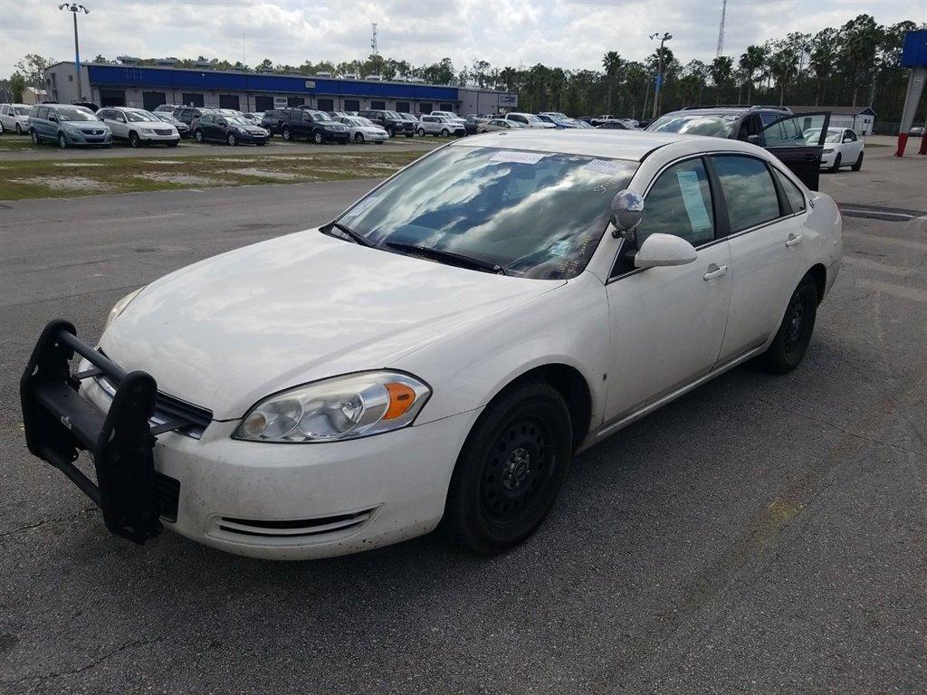 2008 Chevrolet Impala Police photo
