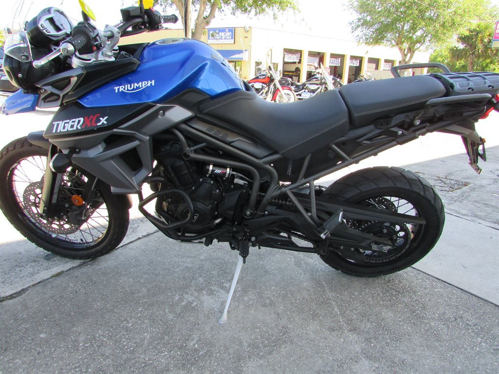 2016 Triumph Tiger 800 XCx Adventure