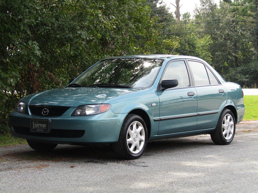 2002 Mazda Protege DX photo