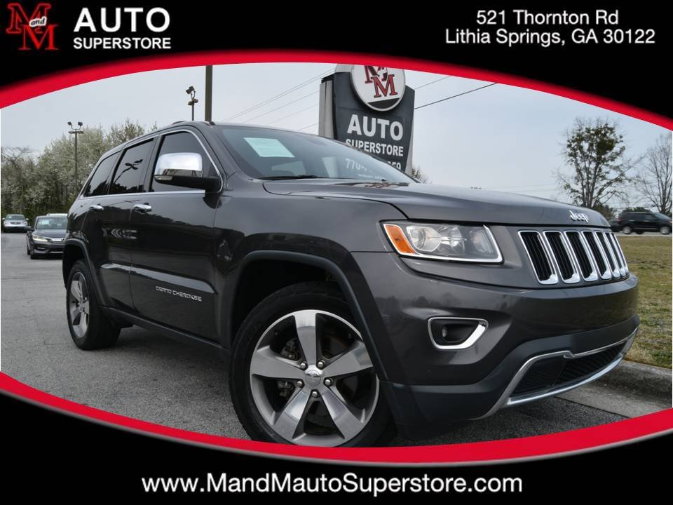 2016 Jeep Grand Cherokee Limited-Navigation-S photo