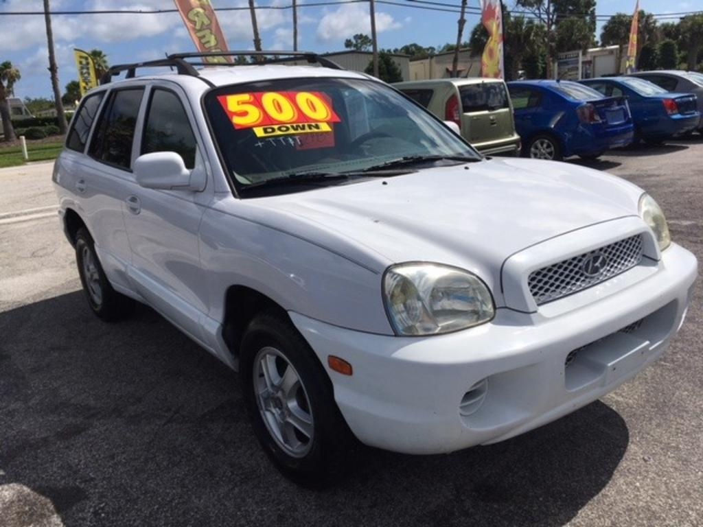 2004 Hyundai Santa Fe photo