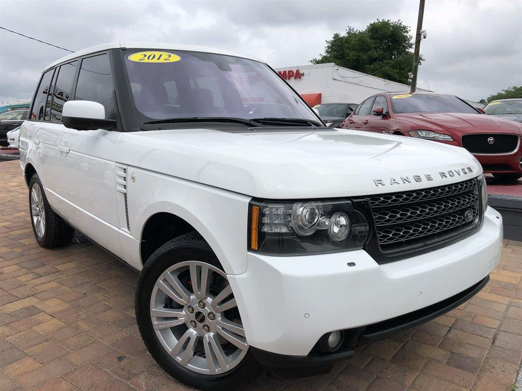 2012 Land Rover Range Rover HSE LUX photo