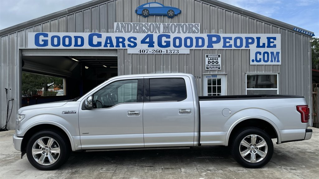 2017 Ford F150 Platinum photo