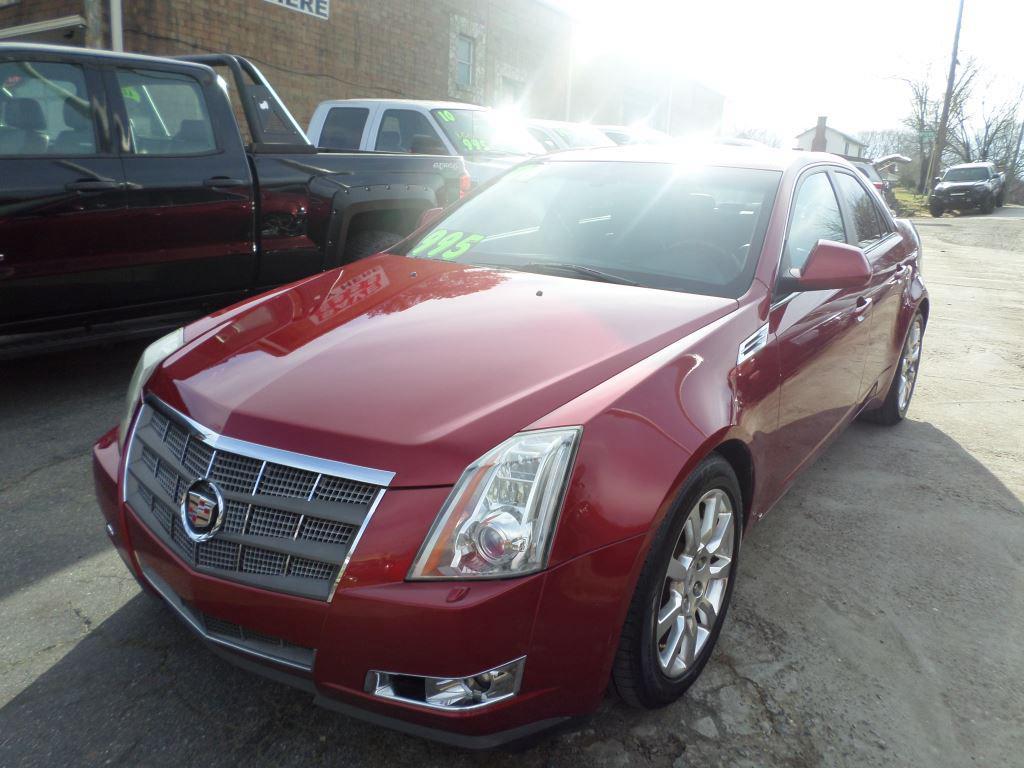The 2008 Cadillac CTS 3.6L DI photos