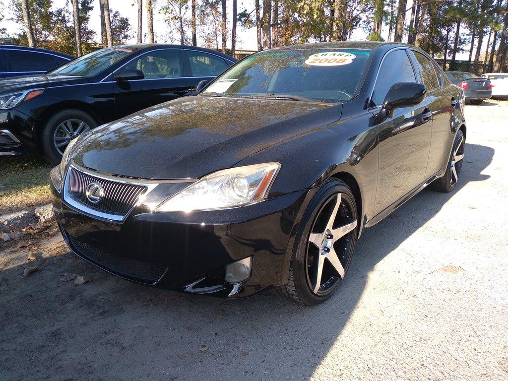 The 2008 Lexus IS 250 photos