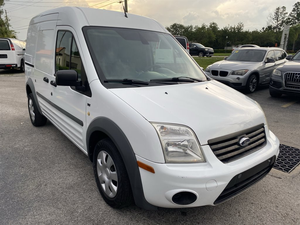 The 2013 Ford Transit Connect Cargo Van XLT photos