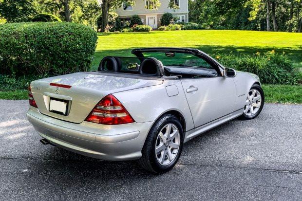 2001 Mercedes-Benz SLK-Class SLK230 photo