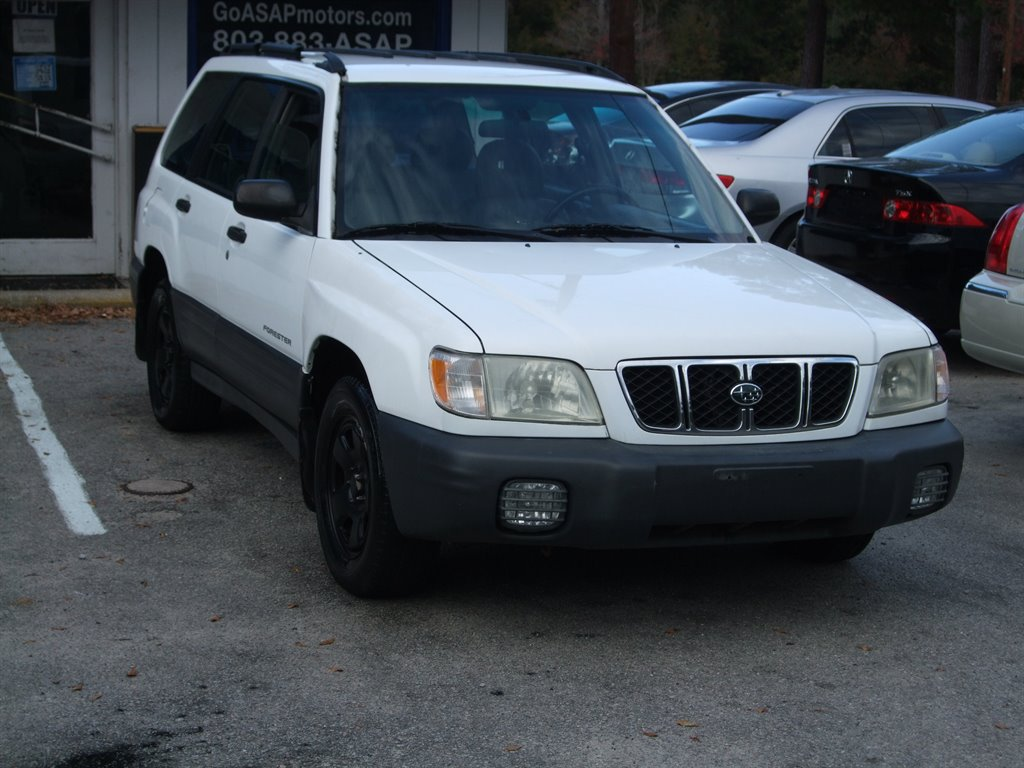 2002 Subaru Forester L photo