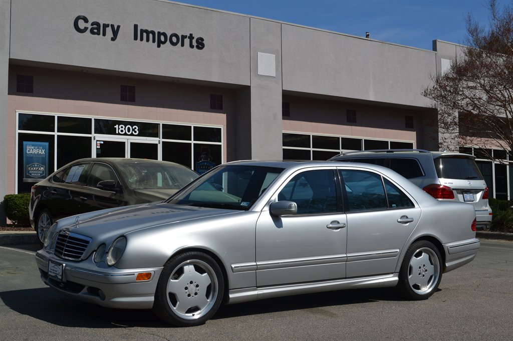 2002 Mercedes-Benz E-Class E55 AMG photo