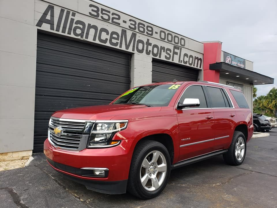 The 2015 Chevrolet Tahoe LTZ photos