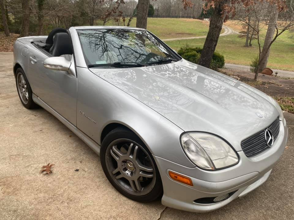 2004 Mercedes-Benz SLK-Class SLK32 AMG photo