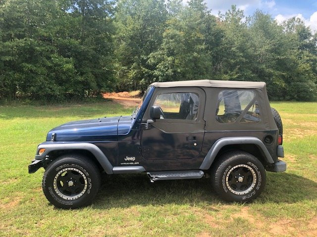2003 Jeep Wrangler SE photo