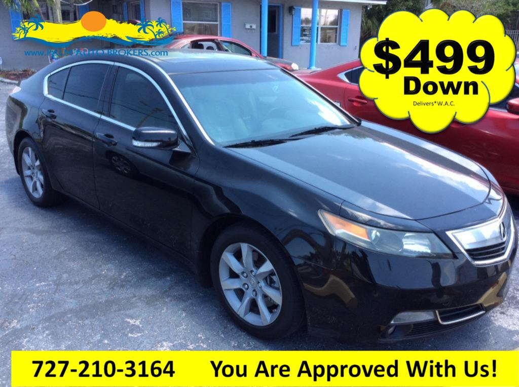 The 2012 Acura TL w/ Technology Package photos