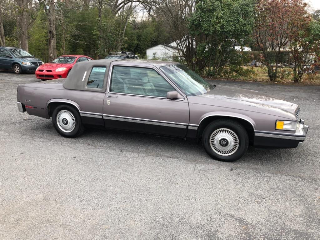 The 1993 Cadillac DeVille