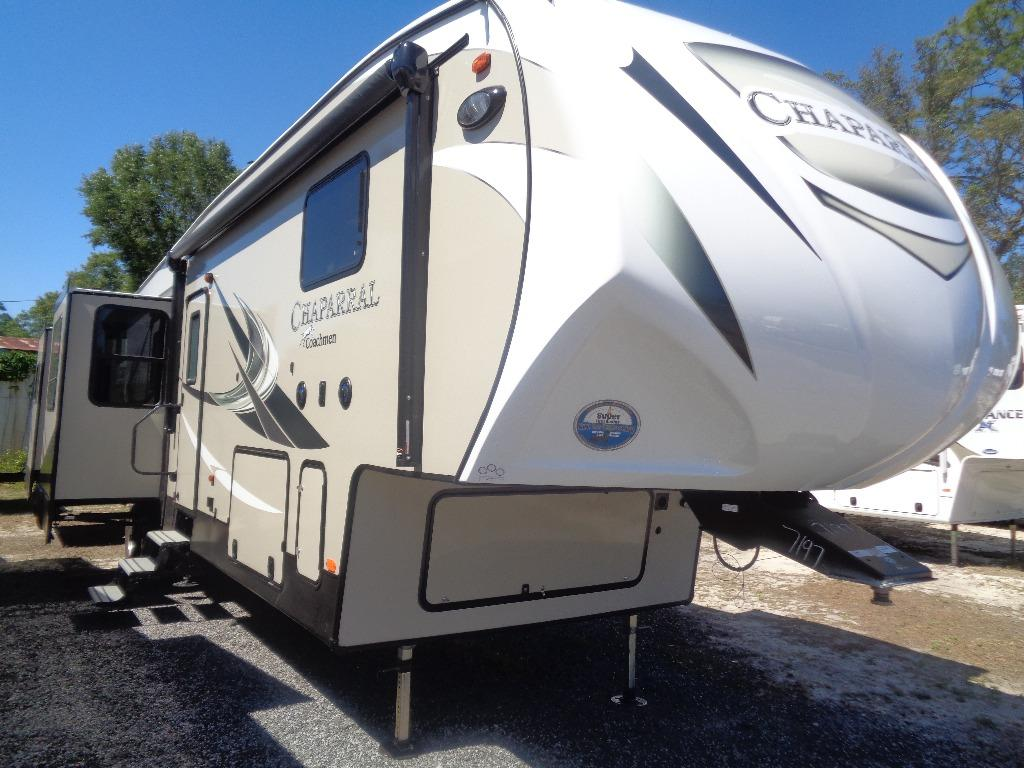 2018 Coachmen RV CHAPARRAL 381RD REAR DEN