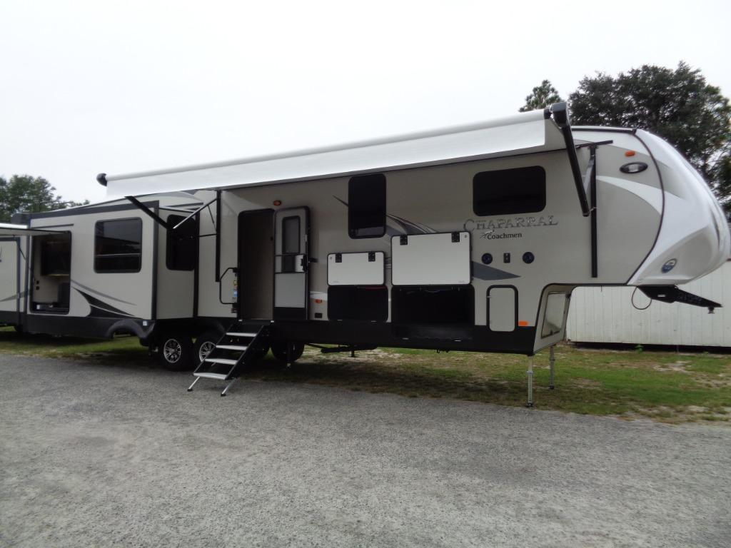2019 Coachmen RV CHAPARRAL 391QSMB MIDDLE BUNK