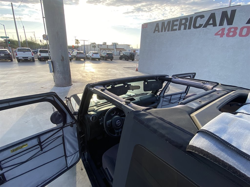 2017 Jeep Wrangler Sport photo