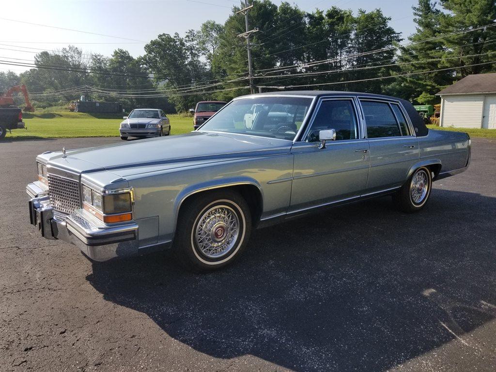 The 1987 Cadillac Brougham photos