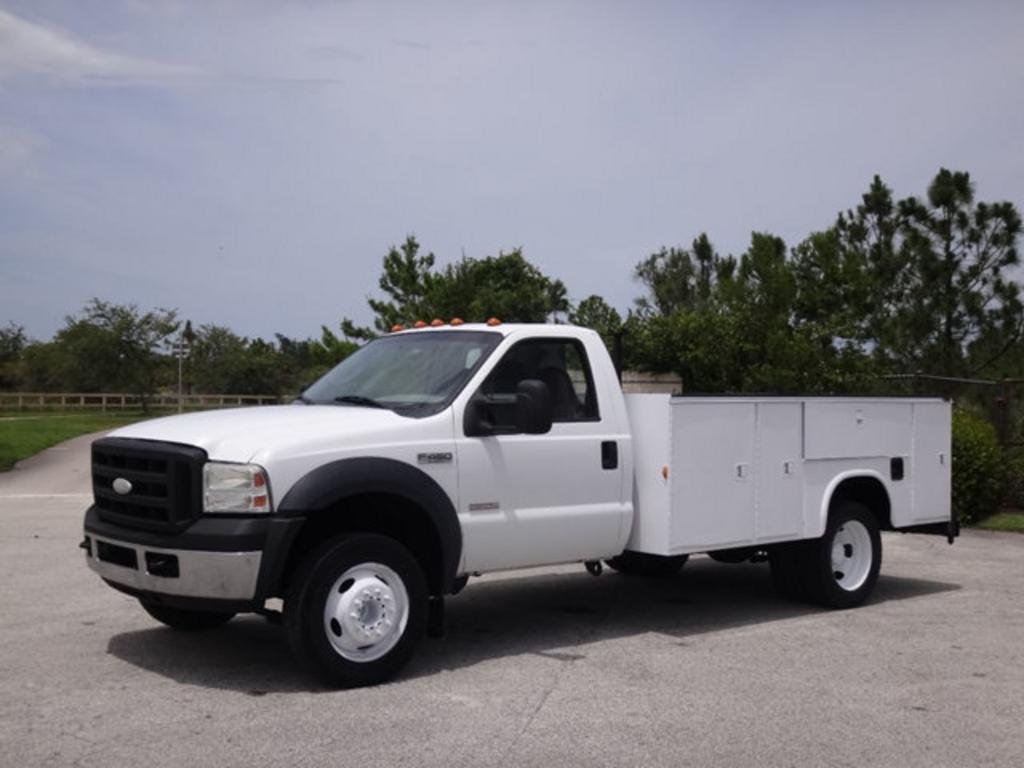 2007 Ford F450 SUPER DUTY Service Utility Truc photo