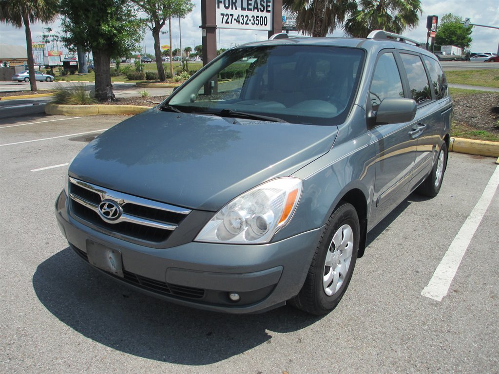 The 2007 Hyundai Entourage GLS photos
