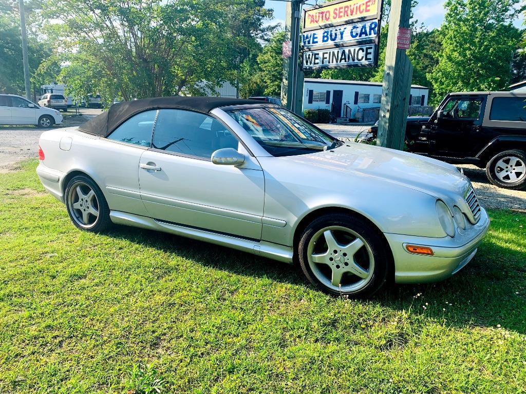 2002 Mercedes-Benz CLK-Class CLK430 photo