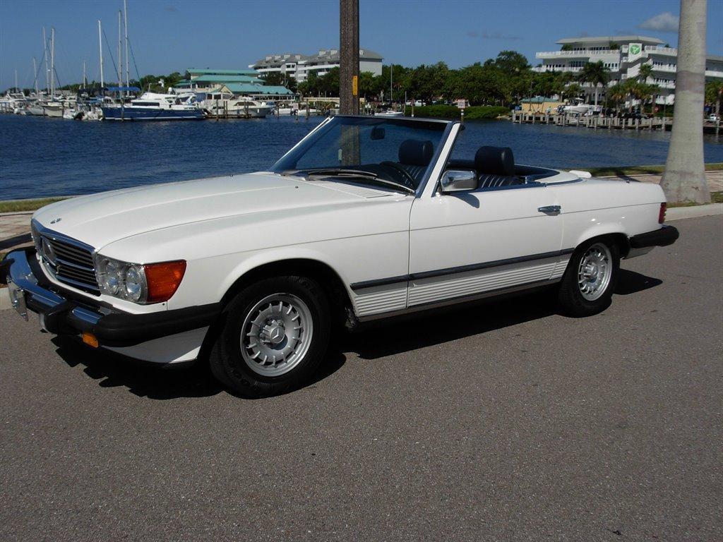 1985 Mercedes-Benz 380-Class 380SL