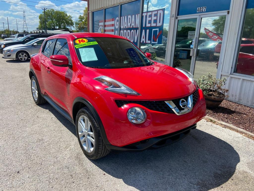 2016 Nissan JUKE S 4dr Crossover photo