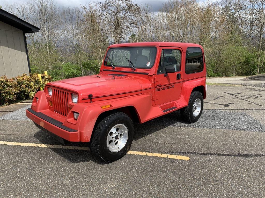 1991 Jeep Wrangler Renegade photo